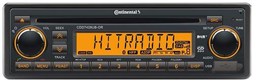 CDD7428UB–OR Continental Radio
