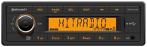 Continental Radio TR7411U-OR