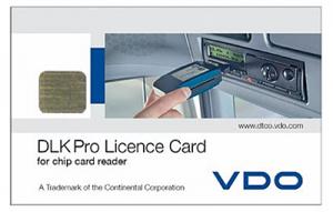 DLK Pro Licence Card