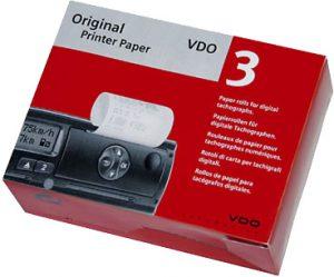Druckerpapier für den DTCO