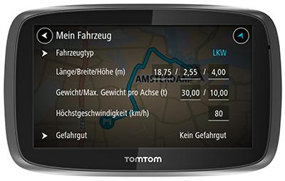 TomTom Telematics PRO 7250 TRUCK