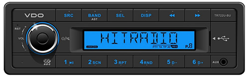 TR722U–BU VDO Radio