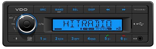TR723UB–BU VDO Radio