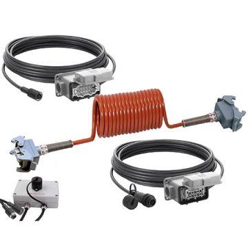 ORLACO Kabelset erweitert Zugmaschine