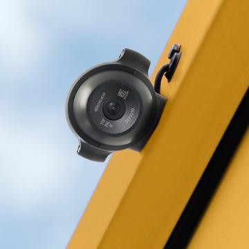 ORLACO FAMOS-Kamera montiert