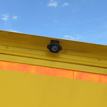 ORLACO Front-Rear-View-Set Kamera hinten montiert