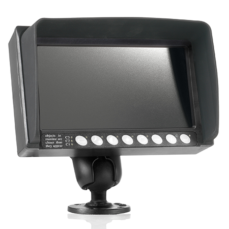 ORLACO Monitor 7 Zoll LLED, 12 Volt
